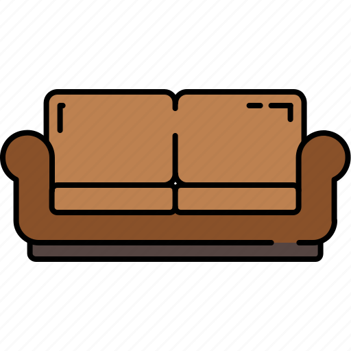 fabric, furniture, leather, livingroom, love, seat icon
