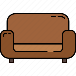 chair, fabric, leather, livingroom, wooden icon