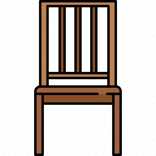 chair, dining, diningroom, furniture, wooden icon