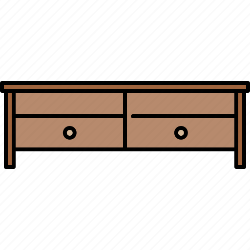 drawers, endtable, furniture, wooden icon