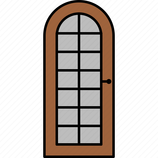 door, furniture, glass, wooden icon