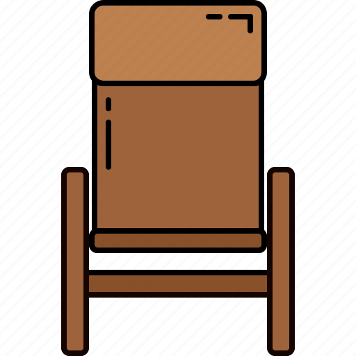 fabric, furniture, leather, recliner, wooden icon