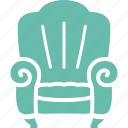 armchair, furniture, property insurance, sofa icon