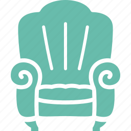 armchair, furniture, property insurance, sofa icon