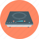 electric cooker, electric hotplate, electric stove, electricity, home appliances, kitchen equipment, power icon