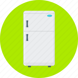 cold, cooler, freezer, fridge, frig, home appliance, refrigerator icon