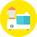 appliance, blender, equipment, juice squeezer, juicer, kitchen, mixer icon