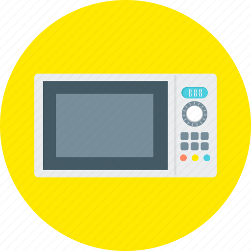 Microwave, appliance, cooking, electrical, equipment, kitchen, microwave oven icon - Download on Iconfinder