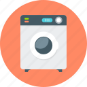 cleaning, home appliances, laundry, machine, tool, washer, washing icon