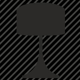 home, interior, lamp, light, lighting icon