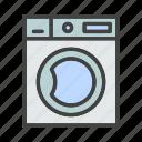 electronic, furniture, home, living, machine, property, washing icon
