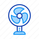electronic, fan, furniture, home, living, property icon