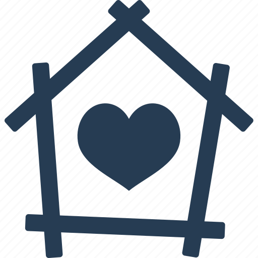 family, favorite, heart, home, house, love, romantic icon