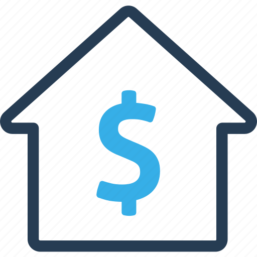 dollar, finance, home, payment, real estate, sell, sold icon