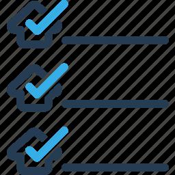 all, checklist, home, shipping icon