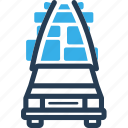 car, move, shipping, stuff, truck icon