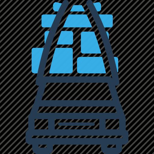 car, move, shipping, stuff, truck icon