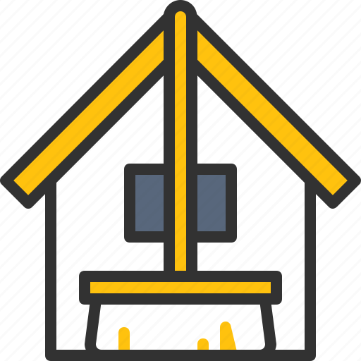broom, cleaning, home, house, service icon