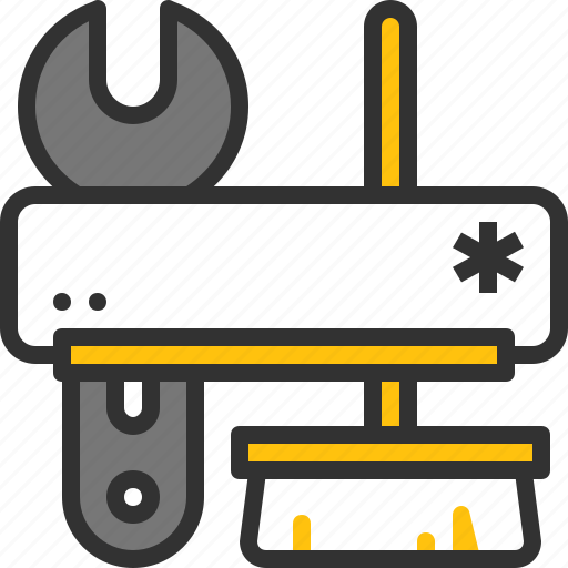 ac, clean, maintenance, package, repair, service, wrench icon