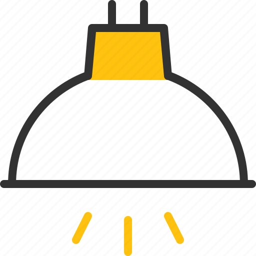 halogen, home, light, spot, spotlight icon