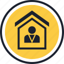 equity, estate, home, house, real, realtor icon