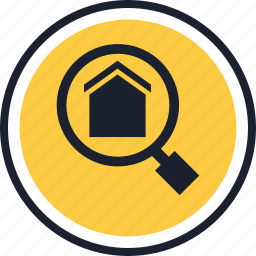 equity, estate, find, home, real, searh icon