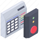 alert sensor, alert siren, wireless alert device, wireless bell, wireless detector icon