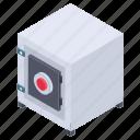 armored safe, cabinet storage, safe box, safe deposit, safe storage icon