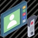 call box, hardware device, home intercom, intercom, intercom system, intercommunication icon