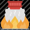 alarm, fire, home, house, miscellaneous, smarthome icon