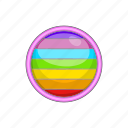 cartoon, circle, colours, gay, lgbt, rainbow, sign icon