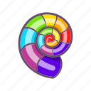 cartoon, colours, curl, gay, lgbt, rainbow, sign icon
