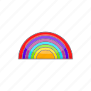 cartoon, gay, homosexual, lesbian, lgbt, rainbow, sign icon