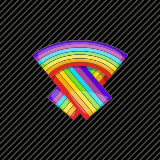 cartoon, flag, gay, lesbian, lgbt, rainbow, sign icon