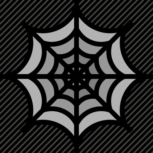 Halloween, horror, spider, web icon - Download on Iconfinder