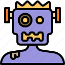 frankenstein, ghost, halloween, monster, zombie icon