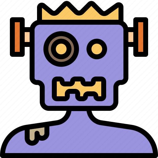 frankenstein, ghost, halloween, monster, zombie icon