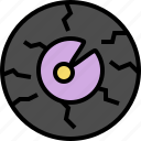 angry, eye, halloween, horror, monster icon