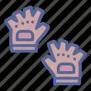 accessory, gloves, jockey, protection icon