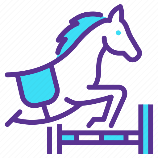 Dressage, equestrian, horse, showjumping icon - Download on Iconfinder