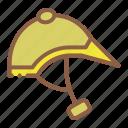 accessory, helmet, horse riding, jockey icon