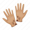 accessory, glove, jockey icon