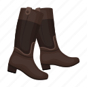 boots, jackets, shoes, uniform icon