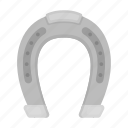 detail, equipment, hoof, horse, horseshoe, protection icon