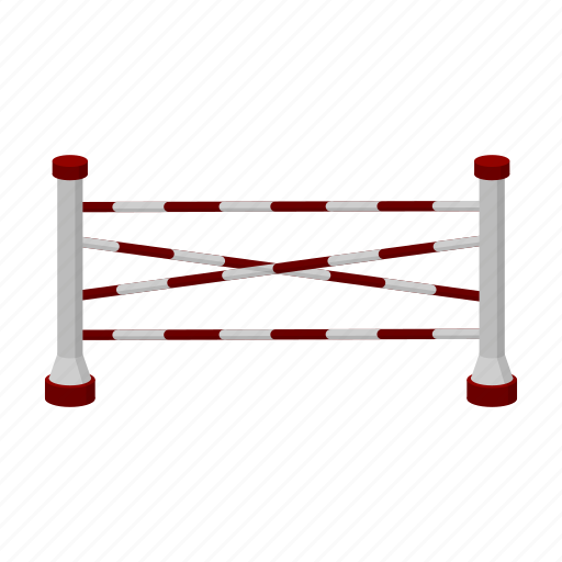 barrier, fence, horse racing, obstacle, racetrack icon