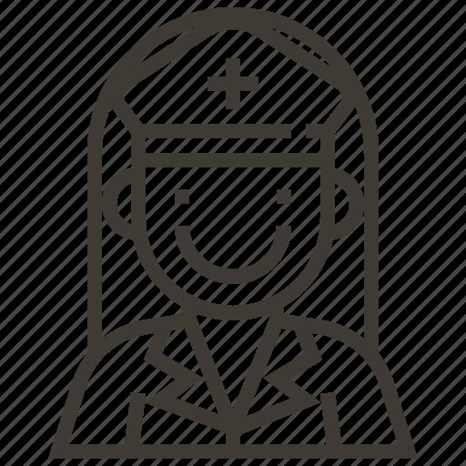 avatar, healthcare, medical, nurse icon