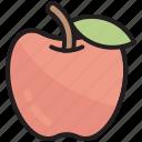 apple, food, fruit, game, healthy, diet, ui
