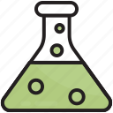 chemistry, experiment, flask, lab, research, science, laboratory