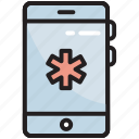 medical, mobile, app, healthcare, application, smartphone, phone