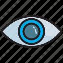 eye, opportunity, vision, find, view, zoom, eyesight